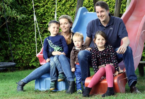 Familie Kuhlemann aus Rhauderfehn in Niedersachsen.