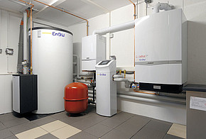 Eine Brennstoffzellen-Heizung im Keller
