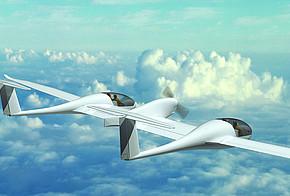 Viersitziges Brennstoffzellenflugzeug HY4 des DLR
