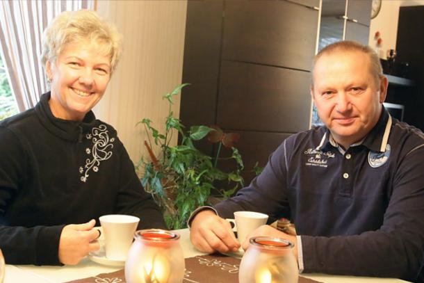 Familie Rutz aus Pasewalk in Mecklenburg-Vorpommern.