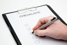 Checkliste für Handwerkerangebote
