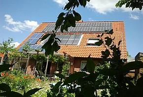 Das Haus von Kesseltauscher Siegfried Lemke
